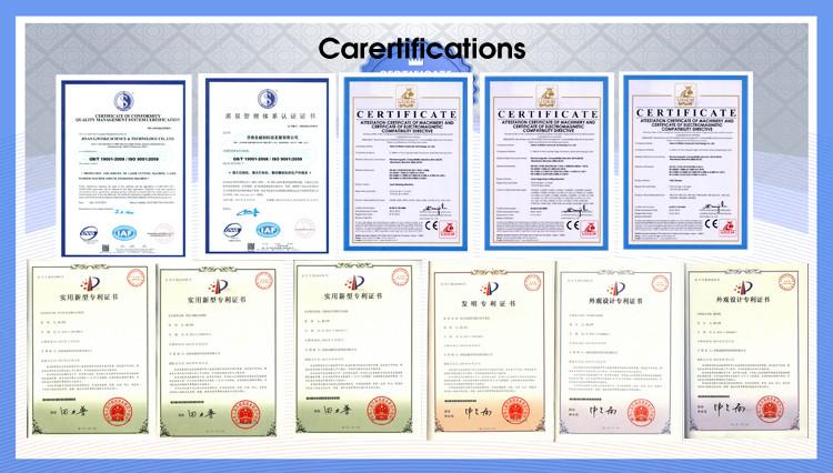 certificate laser cutting machine3