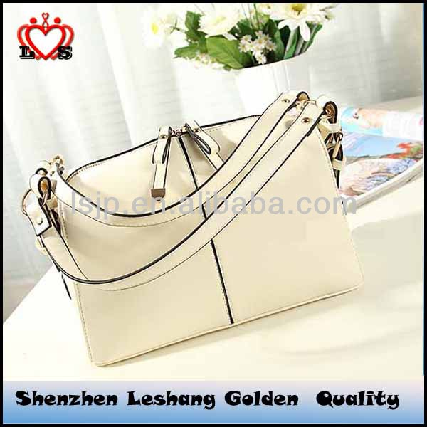 2014 fashionable work tote bag women handbag with bowknot