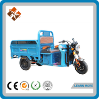 3 wheel electric trikes van cargo tricycle with cabin for sale
