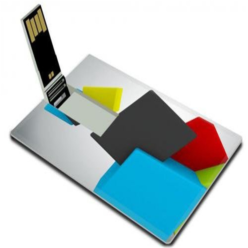Business card and credit card full color logo printing usb flash Drive 1GB 2GB 4GB 8GB 16GB 32GB free samples