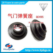 QC495 diesel engine valve spring seat for FOTON truck parts