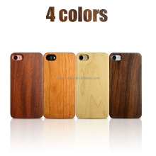 4 different wood material phone case for iphone ,wooden cell phone covers 2017