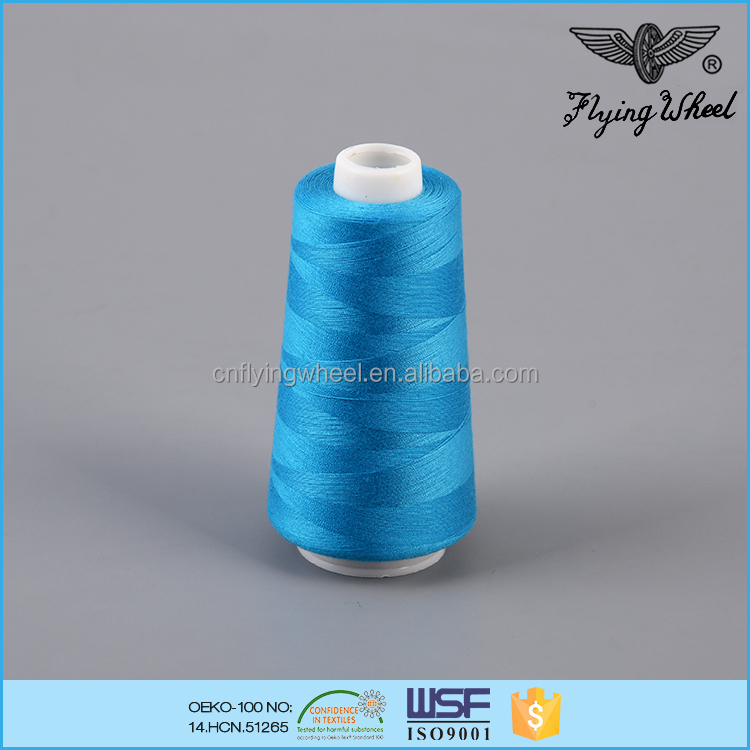 40s/2 tex27 ticket120 chemical resistance sewing spun polyester thread