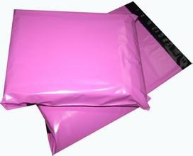 Pink Shipping DHL Courier Personalized Cheap Poly Mailing Bag