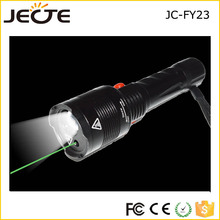 multifunction flash light Green Laser Pointer flashlight Hunting Adjustable flash lights laser +18650 battery + charger