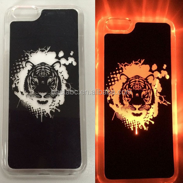 Custom Cell Phone Case with LED Light for iphone 6 6s