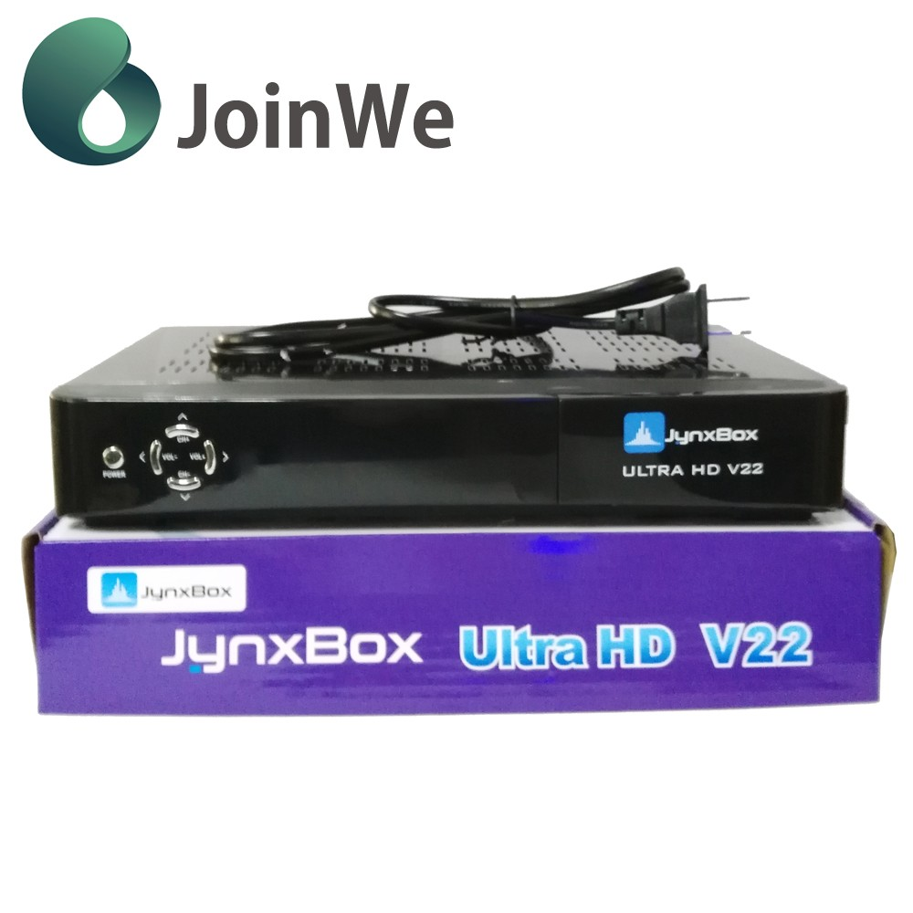 High Definition Jynxbox Ultra Hd V22 Satellite Receiver For North America turbo 8psk & dvb-s2 at same time Jynxbox v22