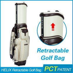 HELIX Nylon Material oem golf bag With High Quality