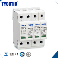 TYCOTIU Hot Endurable Thousands Of Strikes Class II Waterproof Lightning Surge Protector SPD