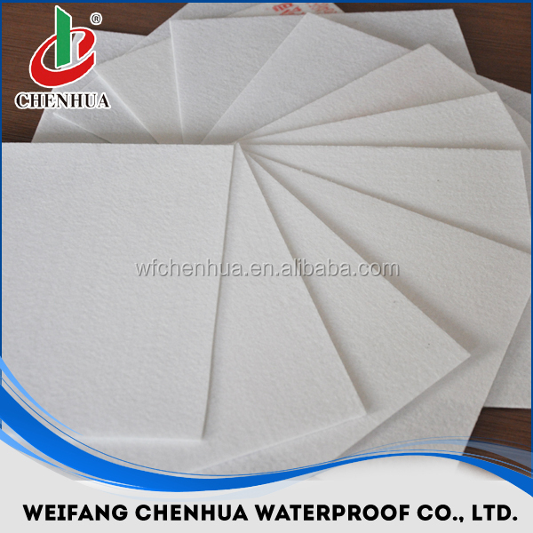 polyester mat reinforcement for bitumen waterproof membranes