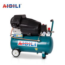 Lowest price portable brand names two cylinder 8 bar 50L 3hp home direct air compressors