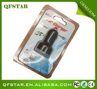 Popular universal usb port 5.0v car charger for phones/mp3/mp4/mp5/laptops