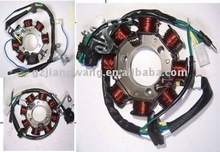 Motorcycle magneto stator coil