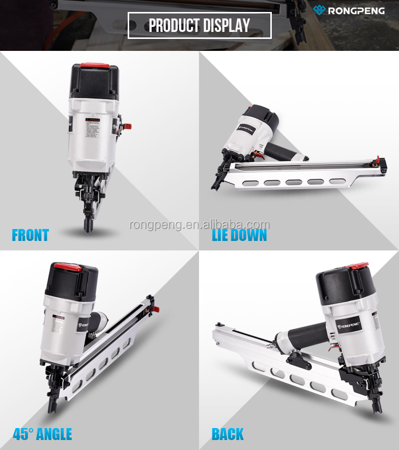 RONGPENG 3-1/2 Inch High Quality Pneumatic Air Tools Framing Nailer Air Framing Nail Gun