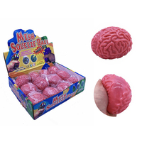 Squishy Brain Fidget Splat Ball Anti Stress Popping Toy Anxiety Reducer Sensory Toy