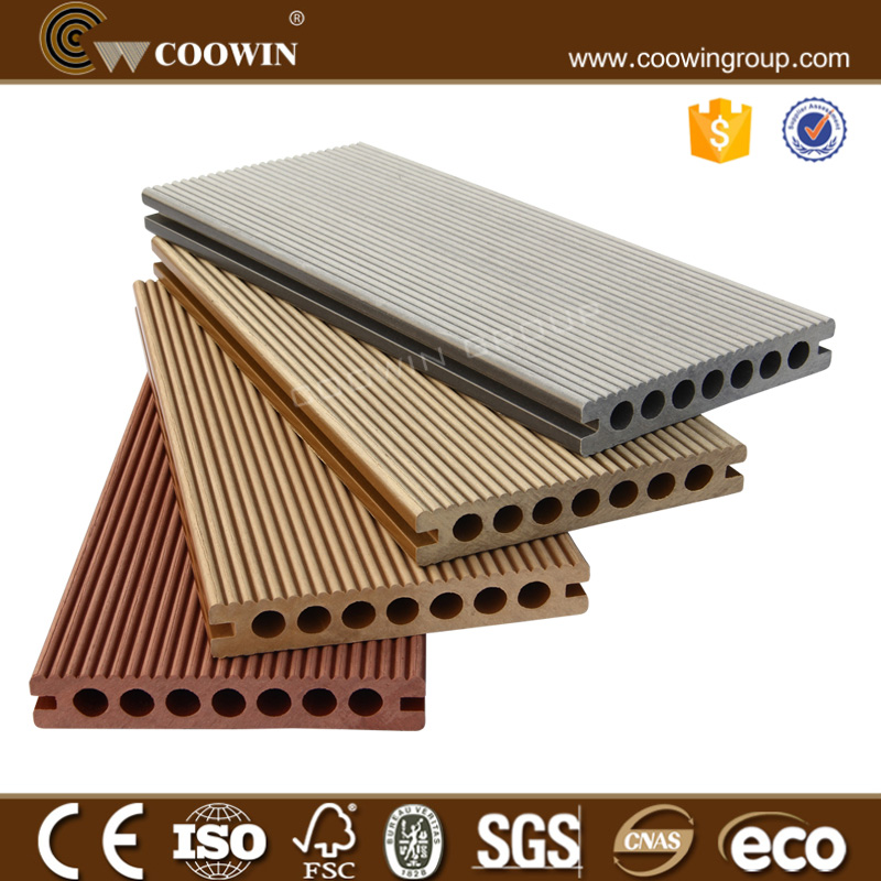 Factory price eco wpc outdoor flooring/composite decking/wpc decking flooring