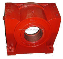 ISO9001 high quality cast iron gearbox housing