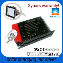 500ma 40W 34~40V remote control color changing outdoor led flood light LED driver