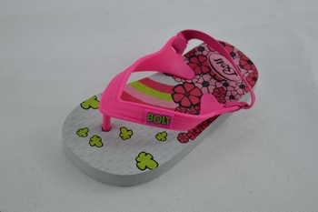 Solid Color Design Beach Sandals For Kids
