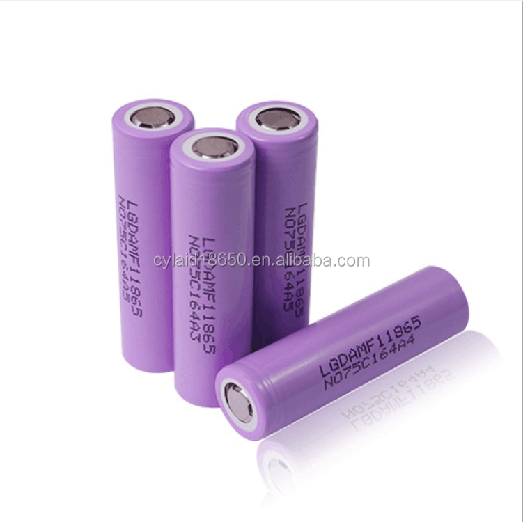 In stock LG 18650 cell MF1 2200mah rechargeable battery li-ion for electronic cigarette