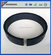 factory supply black plastic guide ring teflon PTFE wear ring