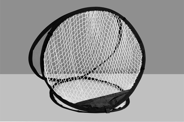 Foldable golf chipping net for indoor training with Carry bag
