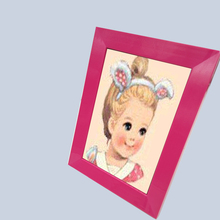 Cheap small baby girl kids craft picture frame