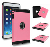 Wholesale Price 2 in 1 Hybrid Hard PC and Soft TPU Case for iPad Mini