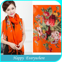 Latest Fashion Plain Woman Wool Scarf, Long Fleece Scarf