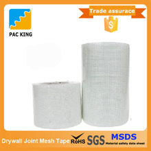 Customized Packing High Quality Adhesive Fiber Glass Joint Mesh Tape Used For Drywall