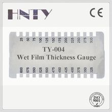 Wet film GB 0 - 150um coating thickness gauge for oil - painting, dope