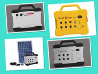 10W Portable Solar Kits mini Solar Power Generator With Battery for home use