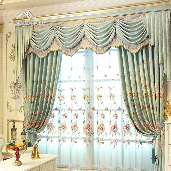 New fashionable wholesale new window hotel room curtain