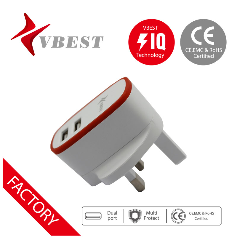 VBEST HOT desigh usb portable travel instant mobile phone charger