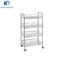 Guangzhou Heda Customized Supermarket Wire Movable Shelves for home and office