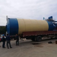 Strong Foundation Galvanized Bolted 200 Ton 100 Ton 300 Ton 400 Ton Cement Silo For Sale
