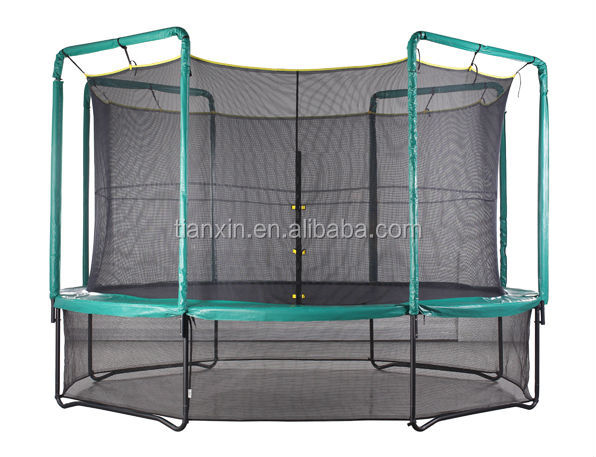 cheap trampolines with enclosures biggest trampoline