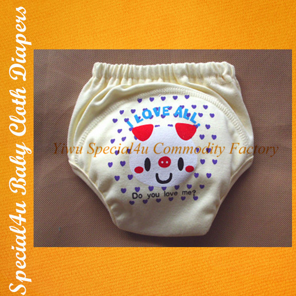 SHLY-1897 Wholesale High Quality Super Soft Portable Reusable Cotton Cloth Baby Diapers