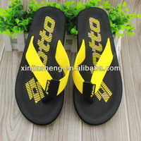 2014 hot new men nude beach rubber eva slippers sandals