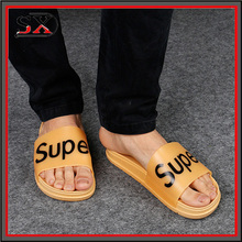 New style men beathable slide slippers for footwear and promotion,light and comforatable