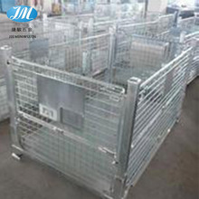 Customization Stackable Metal Storage Wire Mesh Pallet Cage box