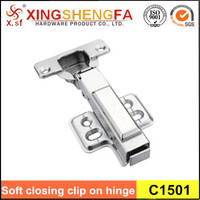 Full overlay Cold Steel Rolling Soft Slow Close Kitchen Cabinet Door Hinges