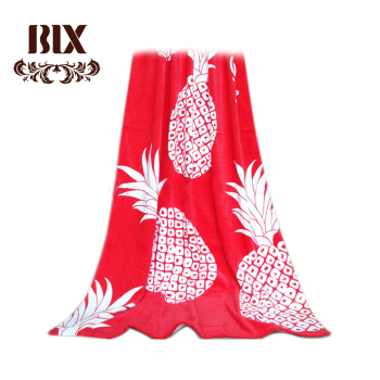 Chinese factory 100% cotton fiber velour reactive printing expanding beach towel
