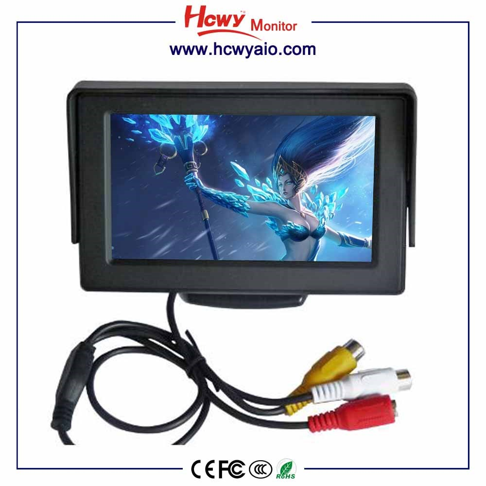 Car Monitor 3.5inch car pillow tft lcd monitor
