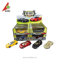 Kids toy new product cheap miniature metal toy cars models whole sale