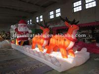 customized Christmas inflatable reindeer