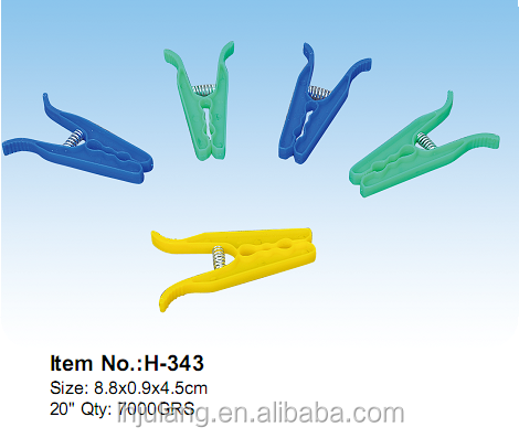Plastic clothes Pegs