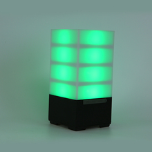 Water cube 5w rectangular wireless speaker with LED light