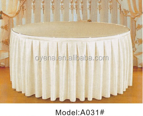 hot sale gold satin table cloth