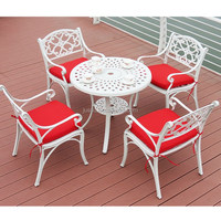 Dining Table Chairs Metal Commercial Outdoor